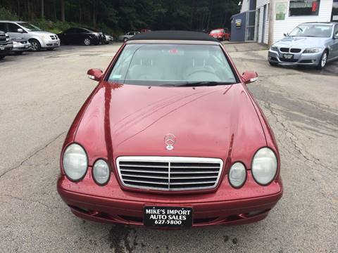 2002 Mercedes-Benz CLK