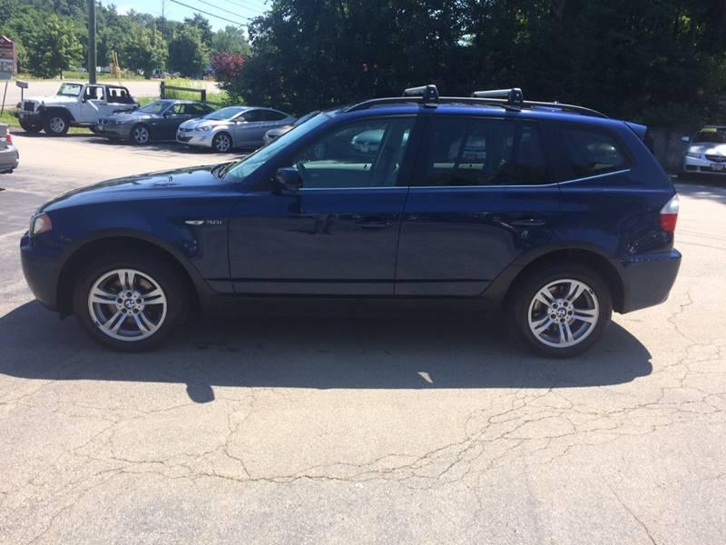 2006 BMW X3 AWD 3.0i 4dr SUV - Hooksett NH