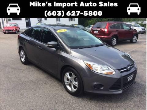 2014 Ford Focus for sale in Hooksett, NH