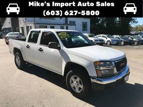 2006 GMC Canyon for sale in Hooksett, NH