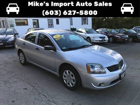 2007 Mitsubishi Galant for sale in Hooksett, NH