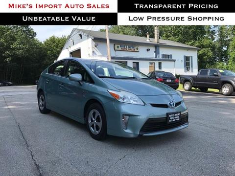 2013 Toyota Prius for sale in Hooksett, NH