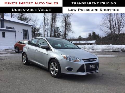 2013 Ford Focus for sale in Hooksett, NH