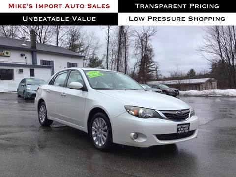 2009 Subaru Impreza for sale in Hooksett, NH