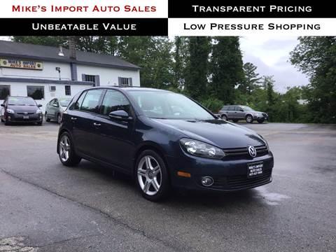 2012 Volkswagen Golf for sale in Hooksett, NH
