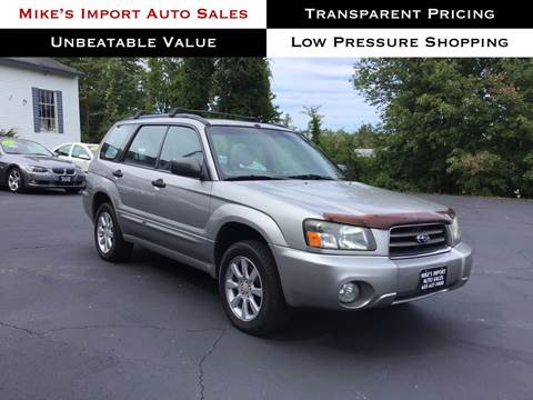 2005 Subaru Forester for sale in Hooksett, NH