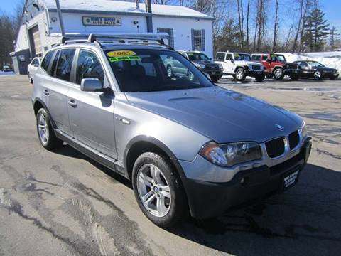2005 BMW X3 for sale in Hooksett, NH