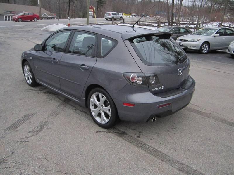 2008 Mazda MAZDA3 New s Sport 4dr Wagon 5M - Hooksett NH