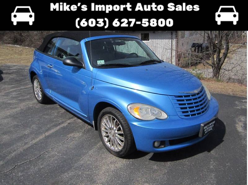 2008 Chrysler PT Cruiser 2dr Convertible - Hooksett NH