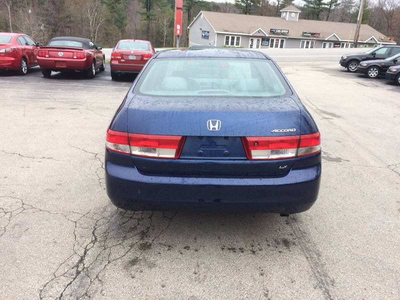 2003 Honda Accord LX 4dr Sedan - Hooksett NH