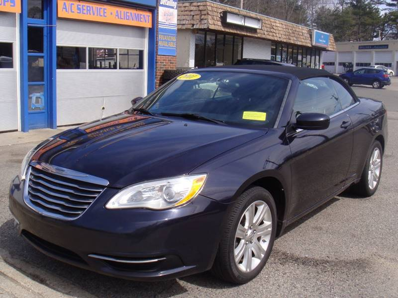 2011 Chrysler 200 Convertible Touring 2dr Convertible In