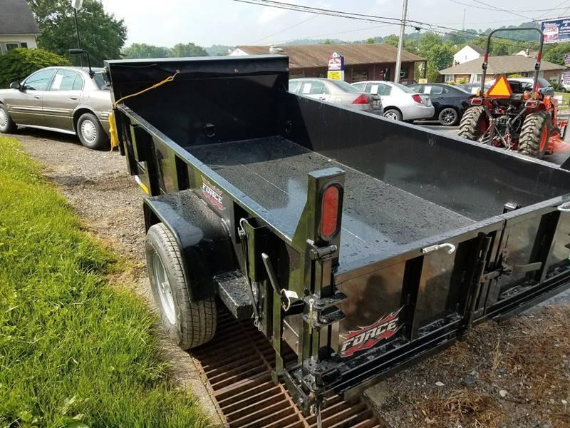 2018 Forest River FORCE DUMP TRAILER HDL510SA3 - East Prospect PA