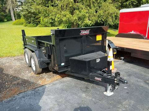 2018 Forest River FORCE DUMP TRAILER