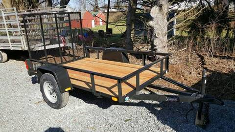 2018 Forest River FORCE 5X8 UTILITY TRAILER
