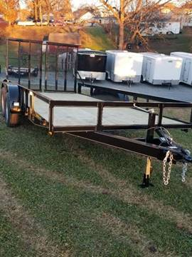 2018 PEQUEA 80X16 UTILITY WITH RAMPS
