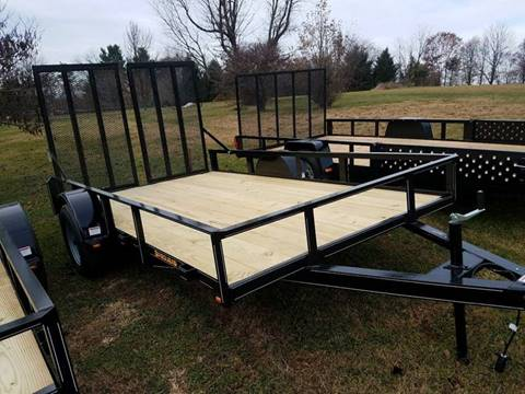 2018 PEQUEA 80X12 UTILITY WITH RAMPS