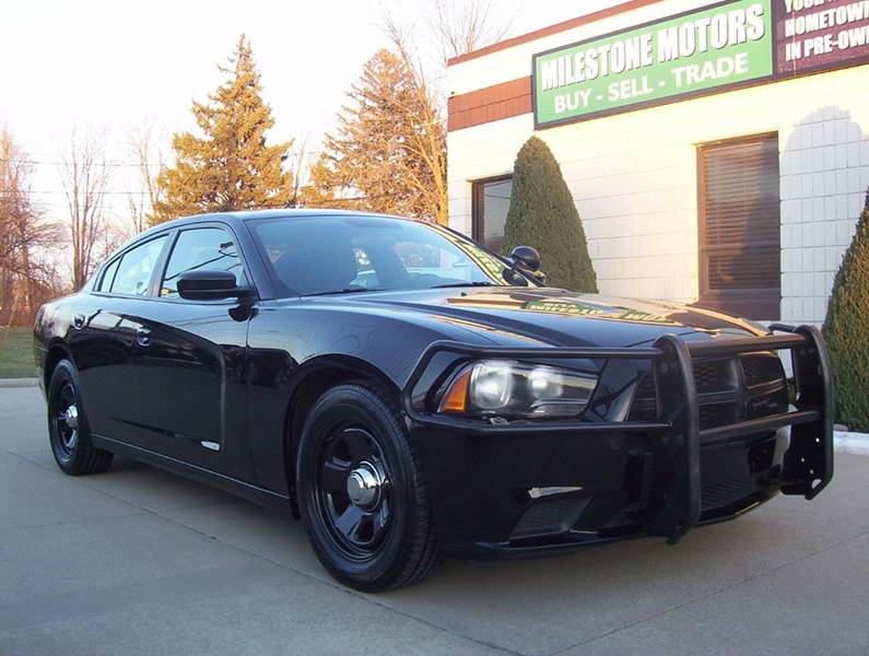 2012 Dodge Charger Police 4dr Sedan In Chesterfield Mi Milestone