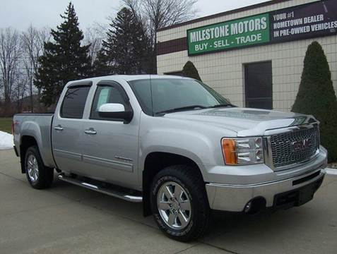 2010 GMC Sierra 1500 for sale at MILESTONE MOTORS in Chesterfield MI
