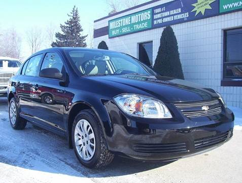 2010 Chevrolet Cobalt for sale at MILESTONE MOTORS in Chesterfield MI