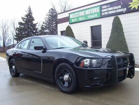 2012 Dodge Charger for sale at MILESTONE MOTORS in Chesterfield MI