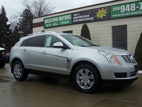 2013 Cadillac SRX for sale at MILESTONE MOTORS in Chesterfield MI