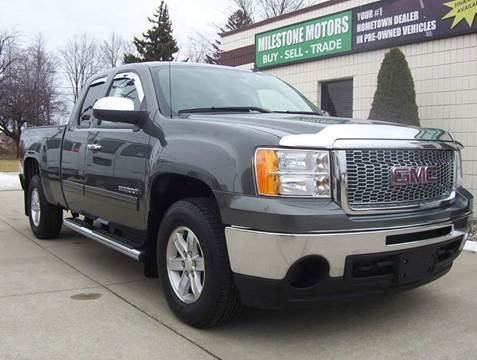 2011 GMC Sierra 1500 for sale at MILESTONE MOTORS in Chesterfield MI