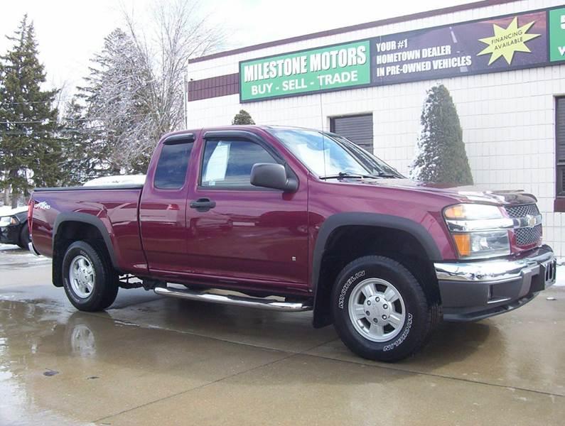 2007 Chevrolet Colorado for sale at MILESTONE MOTORS in Chesterfield MI