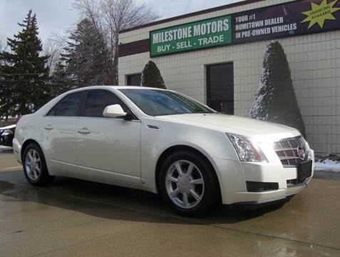 2009 Cadillac CTS for sale at MILESTONE MOTORS in Chesterfield MI