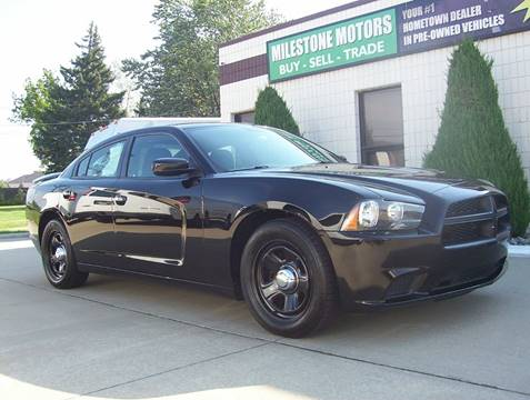 2013 Dodge Charger for sale at MILESTONE MOTORS in Chesterfield MI
