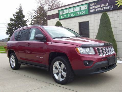 2012 Jeep Compass for sale at MILESTONE MOTORS in Chesterfield MI