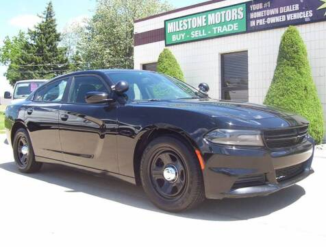 2016 Dodge Charger for sale at MILESTONE MOTORS in Chesterfield MI