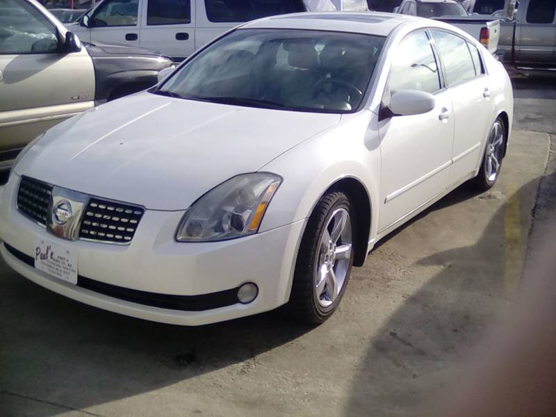 2005 Nissan Maxima for sale at PAUL'S PAINT & BODY SHOP in Des Moines IA