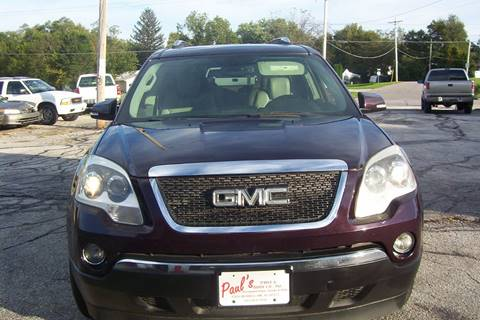 Gmc Acadia For Sale In Des Moines Ia Paul S Paint Body Shop
