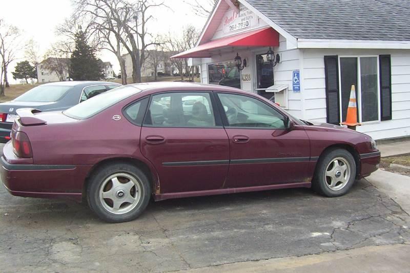 2000 Chevrolet Impala for sale at PAUL'S PAINT & BODY SHOP in Des Moines IA