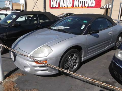 2003 Mitsubishi Eclipse Spyder for sale in Hayward, CA