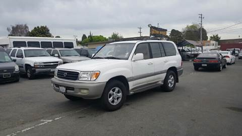 2000 Toyota Land Cruiser for sale at Gateway Motors in Hayward CA