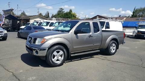 2005 Nissan Frontier for sale at Gateway Motors in Hayward CA
