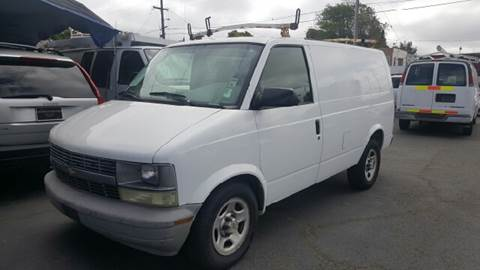 2004 Chevrolet Astro Cargo for sale at Gateway Motors in Hayward CA