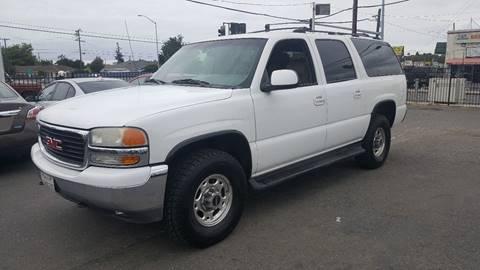 2001 GMC Yukon XL for sale at Gateway Motors in Hayward CA