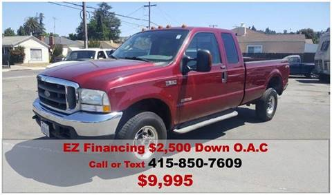 2004 Ford F-350 Super Duty for sale at Gateway Motors in Hayward CA