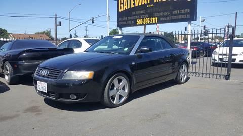 2006 Audi A4 for sale at Gateway Motors in Hayward CA