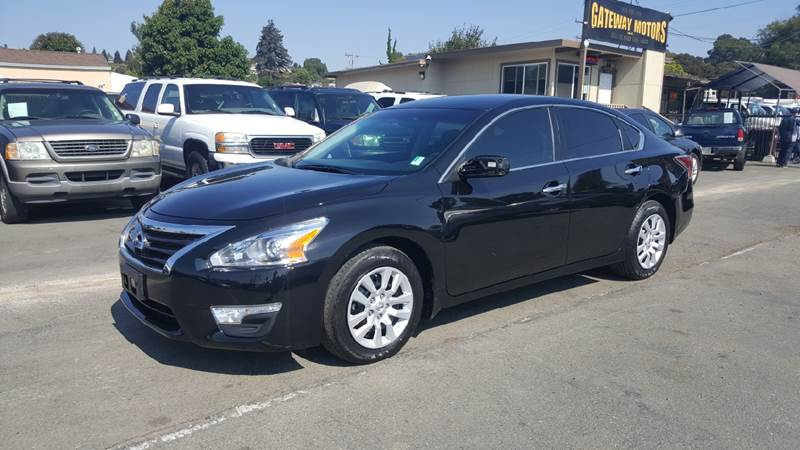 2015 Nissan Altima for sale at Gateway Motors in Hayward CA