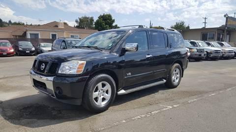 2005 Nissan Armada for sale at Gateway Motors in Hayward CA