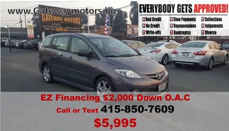 2008 Mazda MAZDA5 for sale at Gateway Motors in Hayward CA