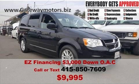 2014 Dodge Grand Caravan for sale at Gateway Motors in Hayward CA
