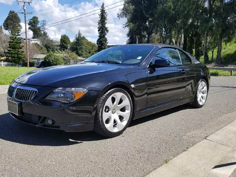 used 2005 bmw 6 series for sale in california. Black Bedroom Furniture Sets. Home Design Ideas
