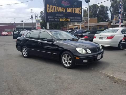 2002 Lexus GS 300 for sale at Gateway Motors in Hayward CA