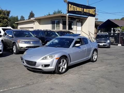 2004 Mazda RX-8 for sale at Gateway Motors in Hayward CA
