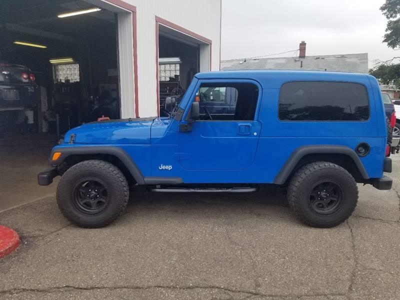 2004 Jeep Wrangler For Sale At J U0026 J Used Cars Inc In Wayne MI