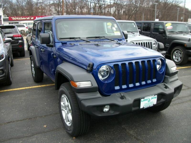 2020 Jeep Wrangler Unlimited Sport S (image 3)
